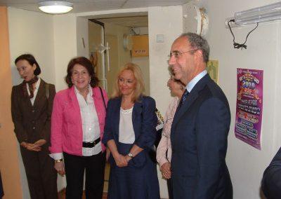 20100309 Visita Conte del Ninno a Yafo Centro Beit Italia (4)