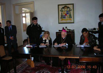 L'accordo firmato con la Diocesi di TaubatèDiocesi