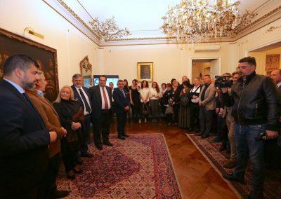 Con esponenti del Governo italiano alla serata Ciscos per beneficenza - Copia