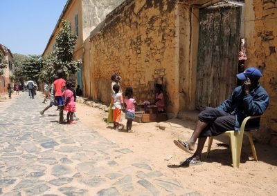 villaggio in Senegal